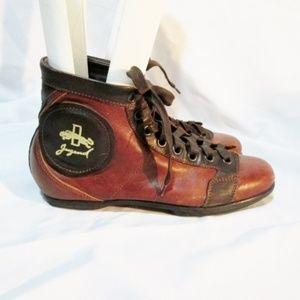 JUGEND ARTIKEL 66 ITALY Leather Hi-Top Sneaker